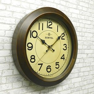 時計 クロック 掛け時計 掛時計 壁掛け時計( 電波時計、電波掛け時計 )( アンティーク、レトロなデザイン ):DsQL68t2AN|kagami|03