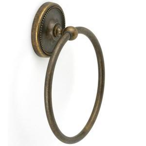 タオルリング タオル掛け(タオルハンガー タオルかけ タオルラック アンティーク 真鍮) kagami