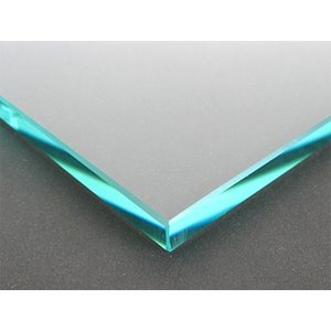 テーブルトップガラス テーブル天板 ガラス天板 天板ガラス(長方形 正方形)国産の硝子 板硝子(板厚10ミリ) 糸面取り加工(面取り幅1〜2ミリ):750x1300mm|kagami