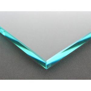 テーブルトップガラス テーブル天板 ガラス天板 天板ガラス(長方形 正方形)国産の硝子 板硝子(板厚10ミリ) 糸面取り加工(面取り幅1〜2ミリ):750x1500mm|kagami