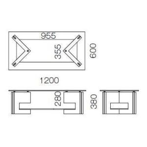 ガラステーブル、ガラス テーブル、テーブル ガラス、リビングテーブル、センターテーブル、ローテーブル|kagami|03