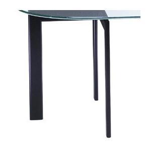 ガラステーブル、ガラス テーブル、テーブル ガラス、ダイニングテーブル、リビングテーブル、オフィステーブル(白・白色・ホワイト、黒・黒色・ブラック) kagami 03