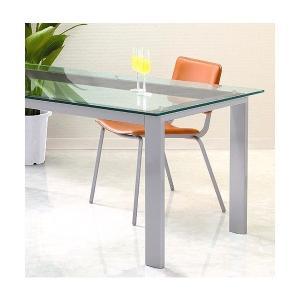 ハイテーブル、ハイ テーブル、リビングテーブル、ガラステーブル、ガラス テーブル、テーブル ガラス(銀・銀色・シルバー)|kagami|02