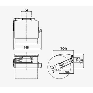 ペーパーホルダー トイレットペーパーホルダー(ステンレス アイアン トイレペーパーホルダー ロールペーパーホルダー)(左右勝手兼用):HR-Rr230c5-ki|kagami|03