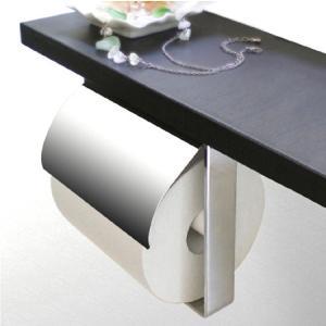 ペーパーホルダー トイレットペーパーホルダー(1連 カウンター用)(W141mm x H139mm):HR-Rr900c5-ki kagami 02