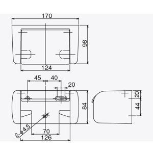 ペーパーホルダー トイレットペーパーホルダー( トイレペーパーホルダー ロールペーパーホルダー)(1連 ワンタッチ仕様):HR-RrK3975NcW-ki|kagami|03