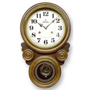 時計 クロック 掛け時計 掛時計 壁掛け時計  (ボンボン時計 時打ち だるま時計)(アンティーク、レトロなデザイン)(振り子時計) :QsL68t7|kagami