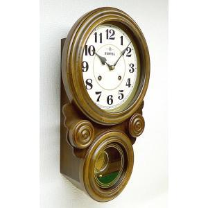 時計 クロック 掛け時計 掛時計 壁掛け時計  (ボンボン時計 時打ち だるま時計)(アンティーク、レトロなデザイン)(振り子時計) :QsL68t7|kagami|02