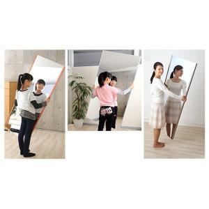 割れない鏡 割れないミラー リフェクス リフェクスミラー フィルムミラー 鏡 ミラー 壁掛け鏡 姿見 姿見鏡 (特注サイズ): RjM-32/40x100-cs20|kagami|03