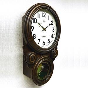 時計 クロック 掛け時計 掛時計 壁掛け時計 (ボンボン時計 時打ち だるま時計)(アンティーク、レトロなデザイン)(振り子時計)(アラビア文字):SsQ0t1A kagami 02