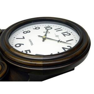時計 クロック 掛け時計 掛時計 壁掛け時計 (ボンボン時計 時打ち だるま時計)(アンティーク、レトロなデザイン)(振り子時計)(アラビア文字):SsQ0t1A kagami 04