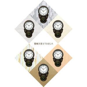 時計 クロック 掛け時計 掛時計 壁掛け時計 (ボンボン時計 時打ち だるま時計)(アンティーク、レトロなデザイン)(振り子時計)(アラビア文字):SsQ0t1A kagami 08