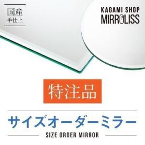 鏡 特注品 オーダー品 No 025 1200×100 3mm 糸面|kagamishop
