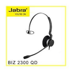 Jabra(ジャブラ) BIZ 2300 QD Mono ヘッドセット 2年保証 2303-820-105  【国内正規代理店品】|kagaoffice