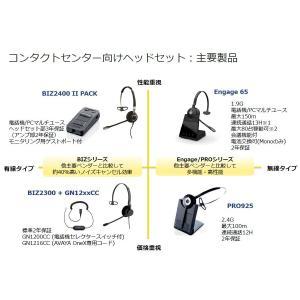 Jabra(ジャブラ) BIZ 2300 QD Mono ヘッドセット 2年保証 2303-820-105  【国内正規代理店品】|kagaoffice|05