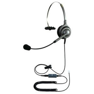 NDK エンタープライズ ヘッドセットパック 片耳タイプ MC3接続コード(ミュートスイッチ付) タイプH kagaoffice