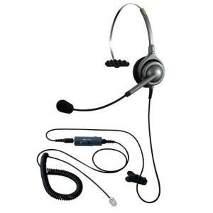 NDK エンタープライズ ヘッドセットパック 片耳タイプ VMC3接続コード(ボリューム/ミュートスイッチ付) タイプH kagaoffice
