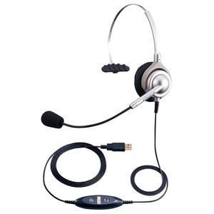 NDK エンタープライズ USBヘッドセットパック 片耳タイプ シャンパンゴールド EN-L(CG)-ND76 kagaoffice