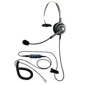 NDK エンタープライズ ヘッドセットパック 片耳タイプ VMC3接続コード(ボリューム/ミュートスイッチ付) タイプM kagaoffice