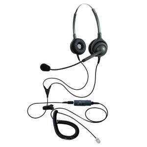 NDK エンタープライズ ヘッドセットパック 両耳タイプ VMC3接続コード(ボリューム/ミュートスイッチ付) タイプH EN2-H(OG)-VMC3 kagaoffice
