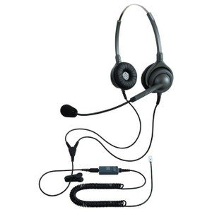 NDK エンタープライズ ヘッドセットパック 両耳タイプ MC3接続コード(ミュートスイッチ付) タイプM EN2-M(OG)-MC3 kagaoffice