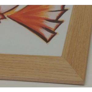 【半額以下】[okamoto] 春野  色紙額、色紙額縁、 8x9寸、 242x272mm/色紙サイズ激安|kagaoka|05