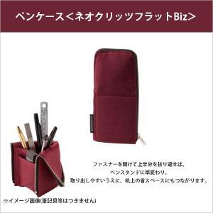 コクヨ KOKUYO ペンケース<ネオクリッツフラットBiz> レッド F-VBF165-3