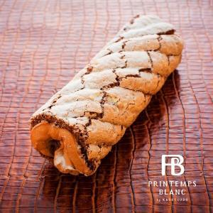 特殊製法で生地表面はサクっ中はふんわり♪ 中にはベルギー産&ガーナ産チョコレートを使用したガナッシュ...