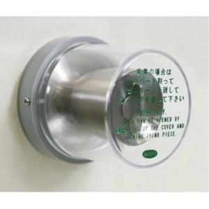 非常用カバー ドアノブ サムターン用 台座付/取付枠付 FUKI/iNAHO kaginokuraya
