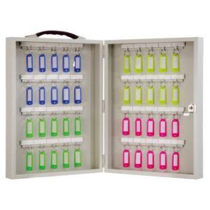 鍵の保管・管理 iNAHO キーボックス40本掛 携帯持運び・壁掛固定の兼用(カギ付き) kaginokuraya