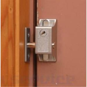 補助錠 インサイドロック ガラス付きのドアに室内ロック