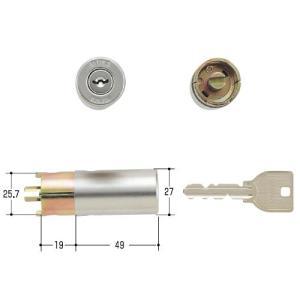 美和ロック/MIWA 鍵 U9 HPD-27KJ ST(シルバー)|kaginokuraya