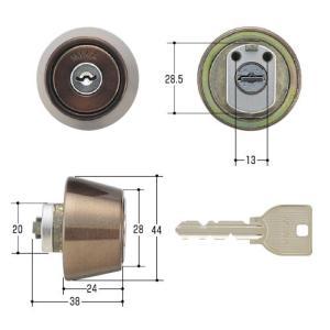 美和ロック/MIWA 鍵 U9 LZ1 CB(ブロンズ)|kaginokuraya