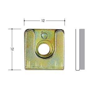 エスカッション はさみナット ノブ取付調整部品(10個入り)|kaginokuraya