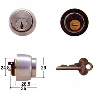 SHOWA 鍵 535・397 CL 5本ピン kaginokuraya