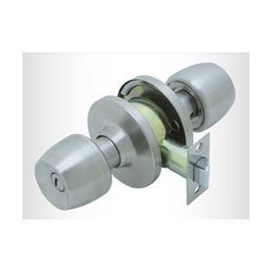 ドアノブ 交換用 トイレ・浴室錠 FUKI 円筒錠 TLH-60 /バックセット60mm