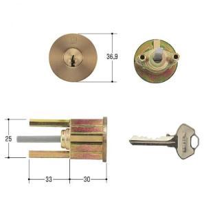 WEST 鍵 G600 ABグランドロックチューブラ錠|kaginokuraya
