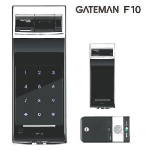 GATEMAN / ゲートマン スマートパッド搭載の指紋認証補助錠 F10|kagiproshop