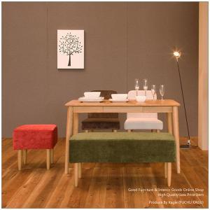 ダイニングテーブルセット ダイニングセット 5点セット 食卓セット (115cm木製テーブル+ダイニングチェア2脚+ベンチ+スツール)|kagle