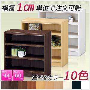 ファイルラック 収納棚 カラーボックス (高さ60cm 奥行44cm 横幅45cm〜60cm)|kagle