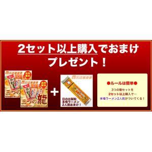 「ラーメン 日の出製粉  三つの龍」ロン龍/赤龍/カレー龍 拉麺セット 3種各1人前」九州とんこつ |kago-cyoku|06