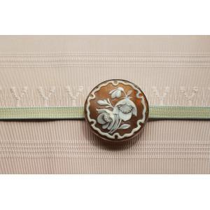 クリスマスローズの帯留め ファッション 、アクセサリー レディースアクセサリー ネックレス、ペンダント (1616)|kagoen-nursery
