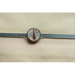 帯留めカメオ 家紋シリーズ(シルバ枠)ファッション 、アクセサリー レディースアクセサリー ネックレス、ペンダント (1616) kagoen-nursery