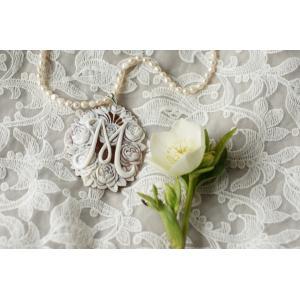 アルハンブラシリーズ ローズアンジェリーク(長辺7cm)ファッション 腕時計、アクセサリー レディースアクセサリー ネックレス、ペンダント (1616)|kagoen-nursery