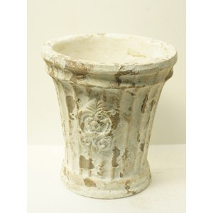 ガルラウンドポット 花、ガーデニング 園芸用品 鉢(4054)|kagoen-nursery