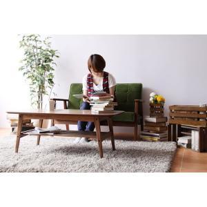 ウォールナットセンターテーブル ウォールナットコーヒーテーブル 使いやすいテーブルです|kagood|03