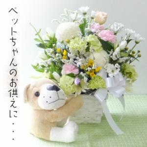 ペット お供え 30 生花アレンジメント 送料無料 あすつく