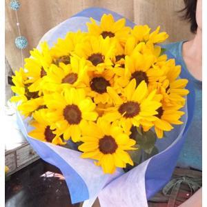 父の日 ギフト ひまわり 花束 向日葵 生花 ...の詳細画像1