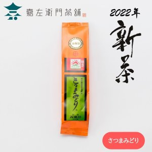 さつまみどり 特選西郷印 100g (日本茶・煎茶・緑茶・かごしま茶・鹿児島県産)