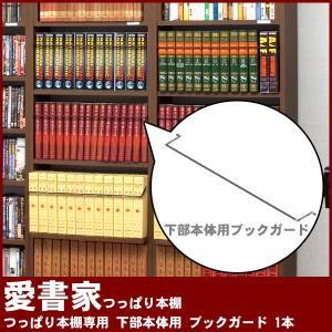 つっぱり本棚 愛書家専用 下部本体用 ブックガード 1本 BG-56 充英アート|kagu-11myroom